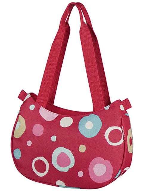 KlickFix Stylebag - Sac porte-bagages - rouge/Multicolore